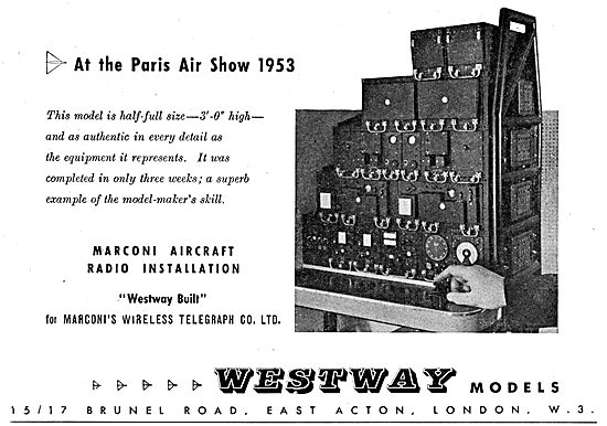 Westway Component Models For Display & Development - Marconi