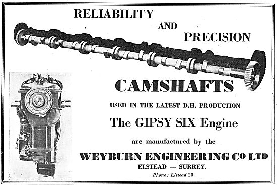 Weyburn Engineering - Aero Engine Camshafts