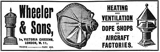Wheeler & Sons - Factory Heating & Ventilation Equipment