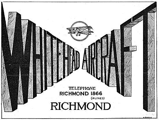 Whitehead Aircraft 1916