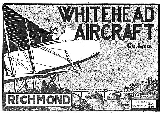 Whitehead Aircraft Co - Richmond Surrey
