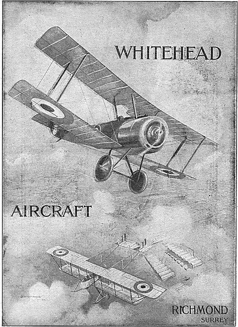 Whitehead Aircraft Co. Richmond Surrey