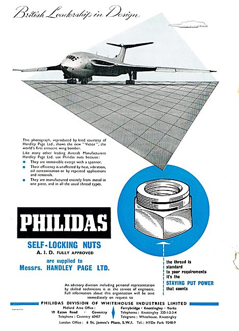 Philidas A.I.D. Approved Self-Locking Nuts On The New HP Victor
