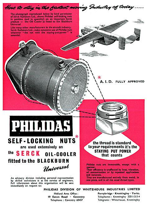 Whitehouse Industries - Philidas Self-Locking Lock-Nuts
