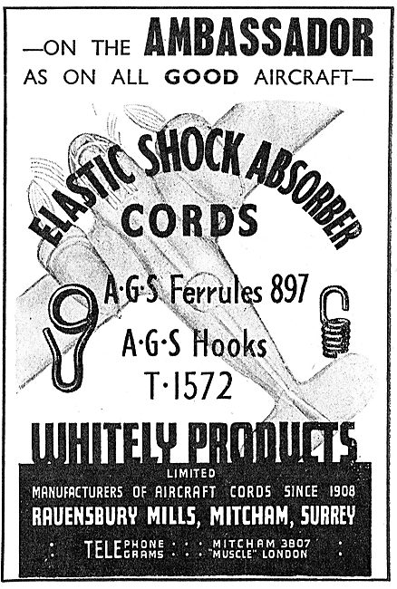 Whitely Products - AGS & Elastic Cords