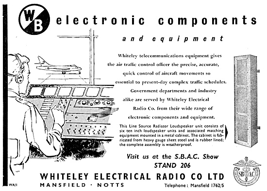 Whiteley Electrical Components For Aircraft