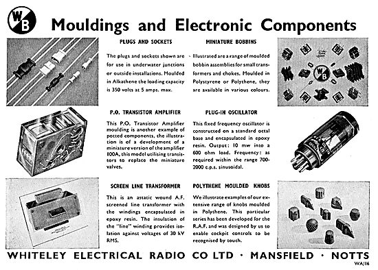 Whiteley Mouldings & Electrical Components For Aircraft