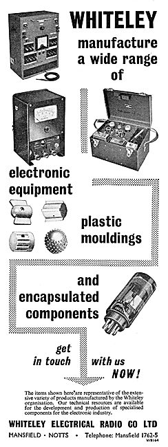 Whiteley Electrical & Electronic Equipment For Aircraft
