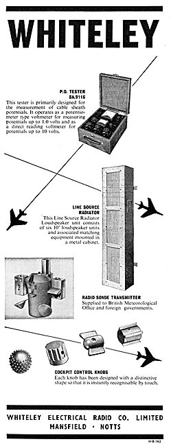 Whiteley Electrical Components  - Line Source Radiator