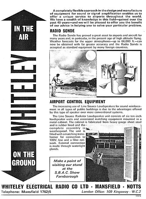 Whiteley Radio Sonde - Whiteley Airport Control Equipment