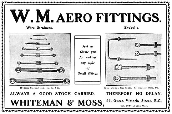 Whiteman & Moss. AGS & Fittings