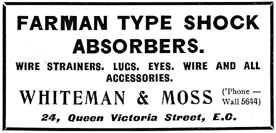 Whiteman & Moss. Shock Absorbers