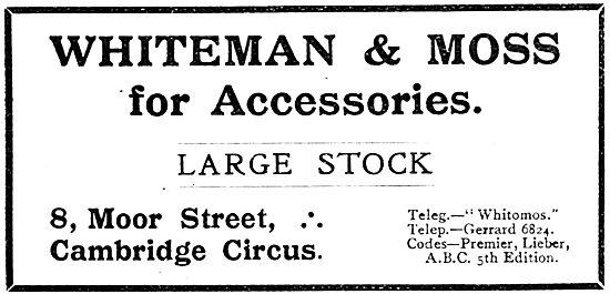 Whiteman & Moss Aeroplane Accessories