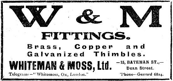 Whiteman & Moss Galvanised Thimbles