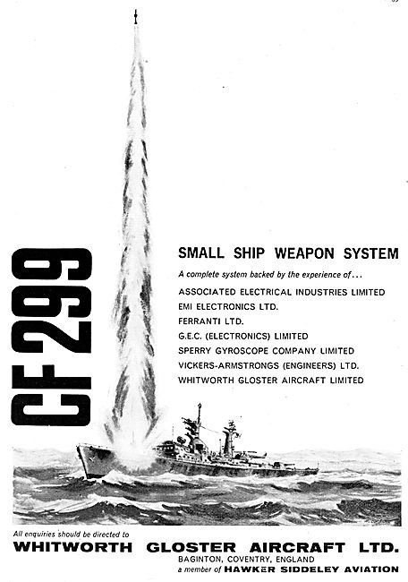 Whitworth Gloster Small Ship Weapon System