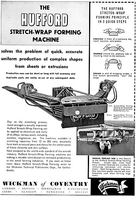 Wickman Hufford Stretch-Wrap Forming Machine