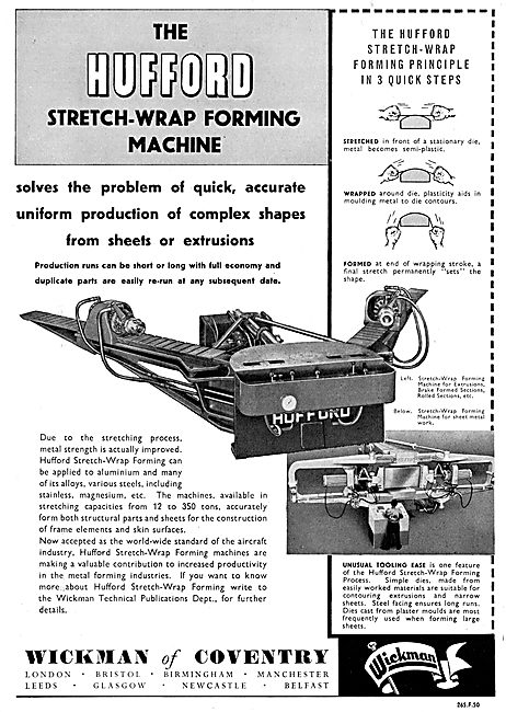 Wickman Of Coventry Hufford Stretch-Wrap Machinery
