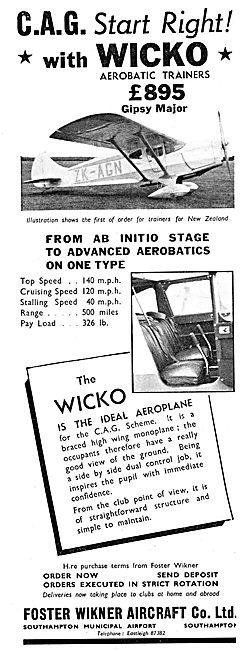 Foster Wickner Wicko  : C.A.G. Civil Air Guard