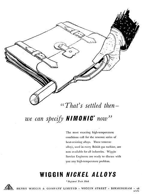 Wiggin NIMONIC Nickel Alloys