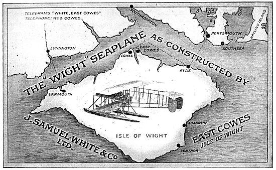 J.Samuel White. Wight Seaplane 1914