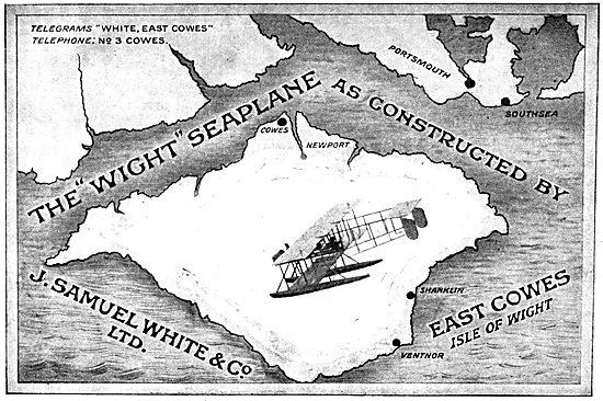 J.Samuel White. Wight Seaplane