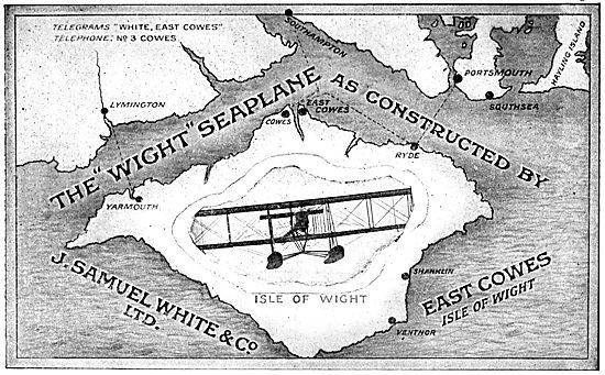 The Wight Seaplane 1915