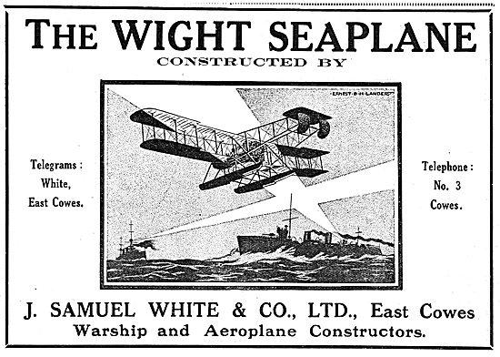 The Wight Seaplane