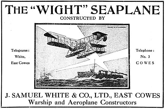 The Wight Seaplane 1916