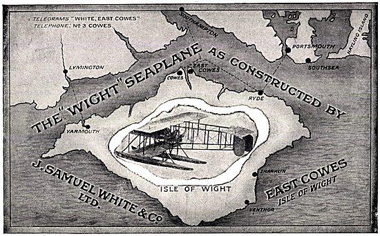 The Wight Seaplane WW1