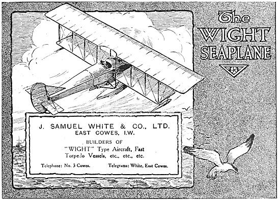 Wight Seaplanes 1916