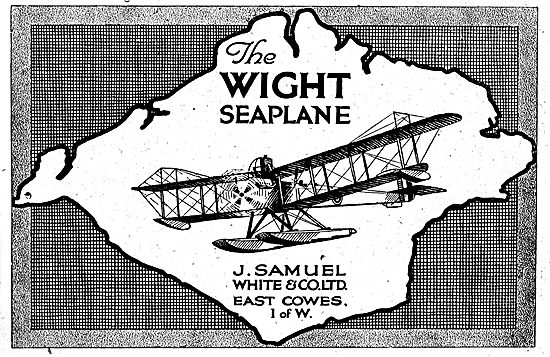 The Wight Seaplane - East Cowes Isle Of Wight