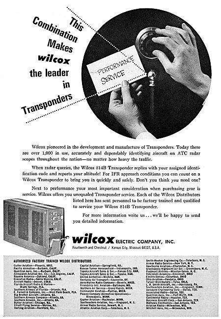 Wilcox Avionics - Wilcox 814B Altitude Encoding Transponder