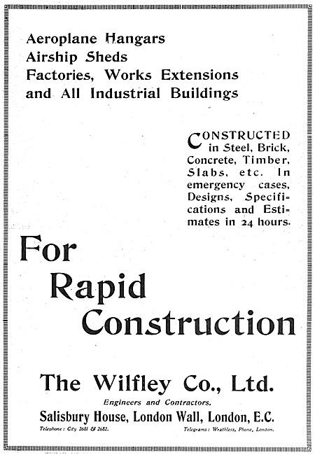 Wilfley Steel Buildings & Aircraft Hangars