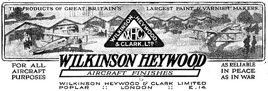 Wilkinson Heywood: Aircraft Paints, Varnishes & Finishes