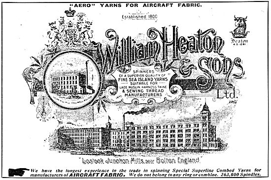 William Heaton & Sons - Fabrics, Yarns & Threads