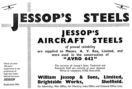 William Jessop High Temperature Steels