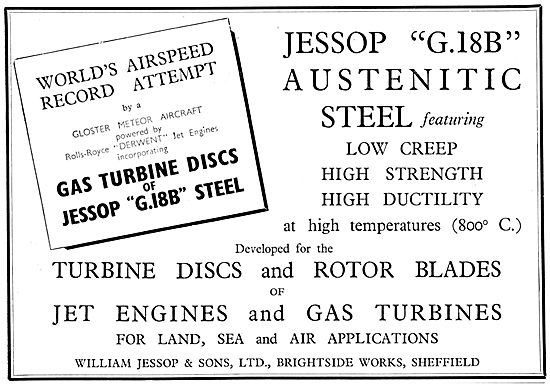 William Jessop G18B Austenitic Steel