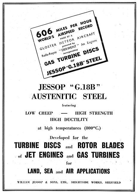 William Jessop G18B Austenitic Steel