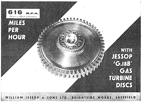 William Jessop High Temp Steels - Jessop G18B  Turbine Steel