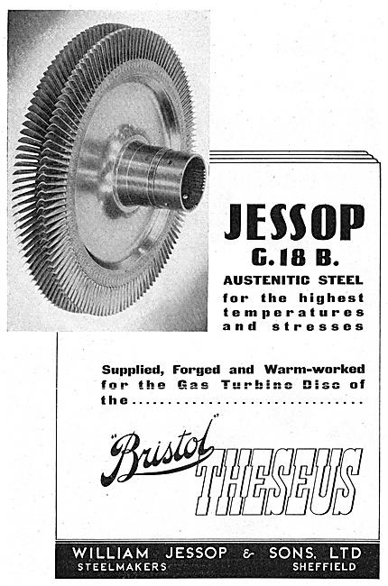 William Jessop G.18 B. Austenitic Steel
