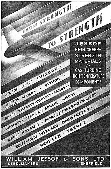 William Jessop Gas Turbine High Temperature Components