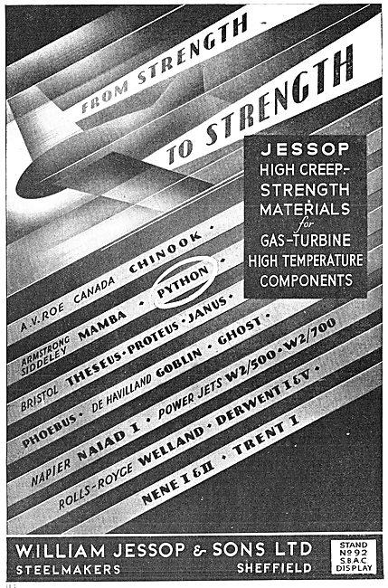 William Jessop High Temperature Steels 1949