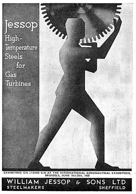William Jessop High Temperature Steels 1950