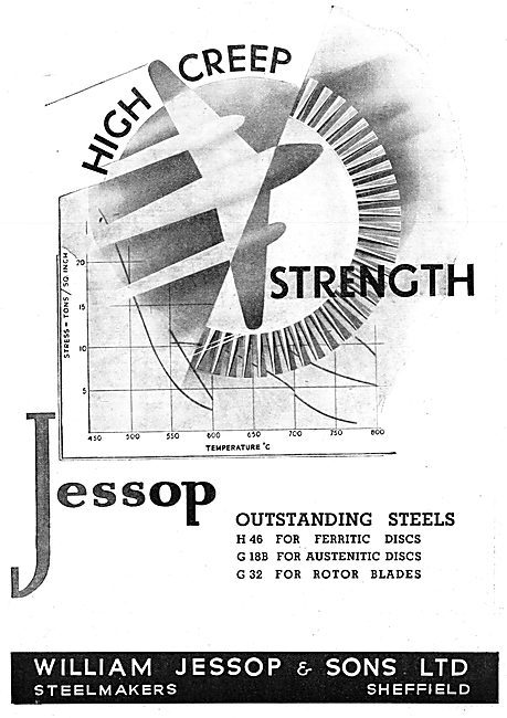William Jessop High Temperature Steels. H 46 G18B G32