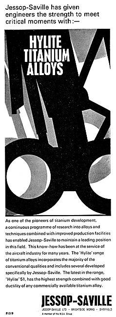 Jessop-Saville Hylite Titanium Alloys 1965