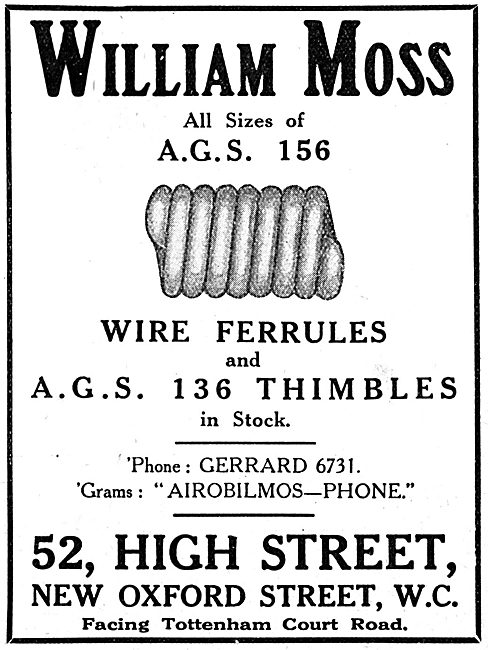 William Moss -. AGS Parts & Accessories