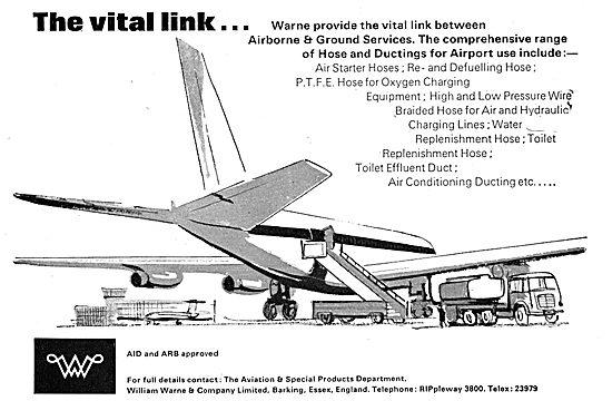 William Warne - Hoses, Ducting & Connectors