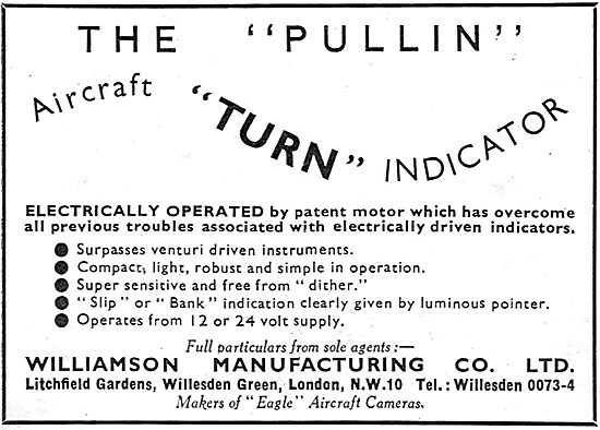 The Pullin Aircraft Turn Indicator
