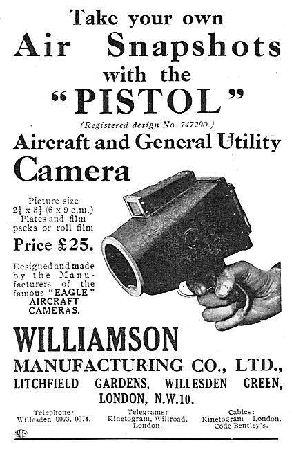 Williamson Pistol Cameras- Williamson Eagle Cameras