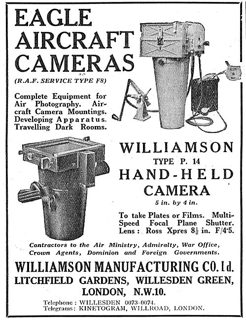 Williamson Eagle Aircraft Cameras